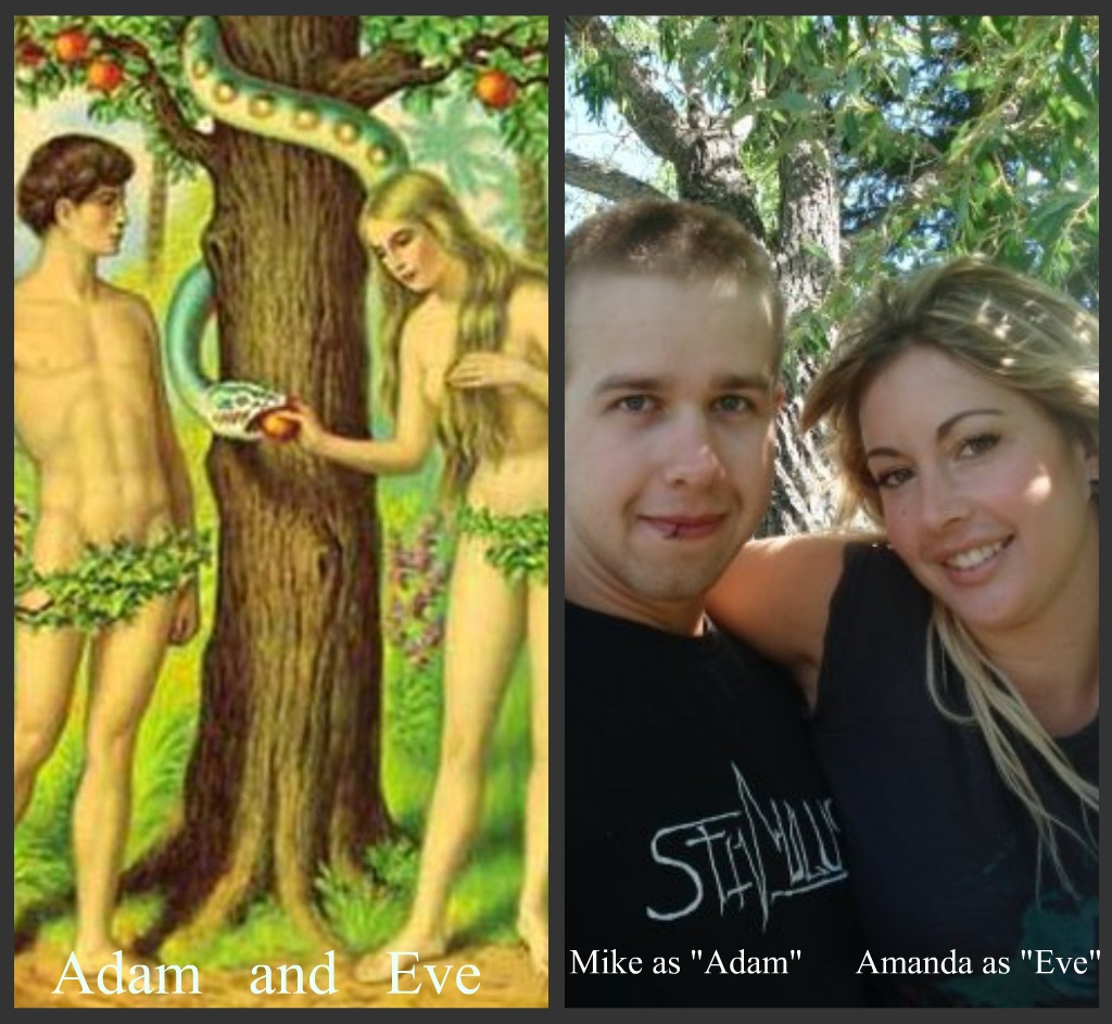 Adam And Eve Costumes Cast as Adam And Eve