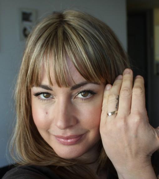 Tattoo Cross On Ring Finger