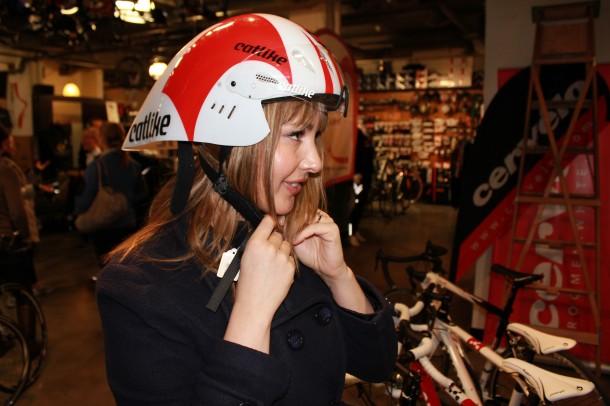 triahtlon helmet, aerodynamic