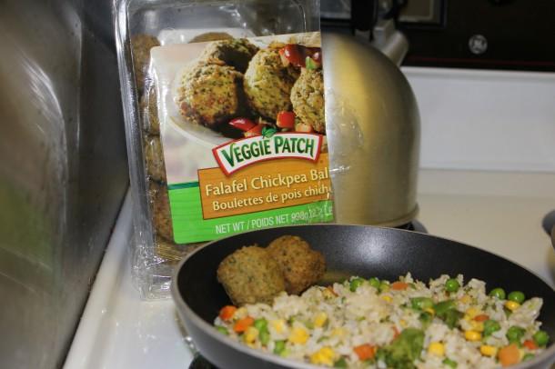 veggie patch falafel balls