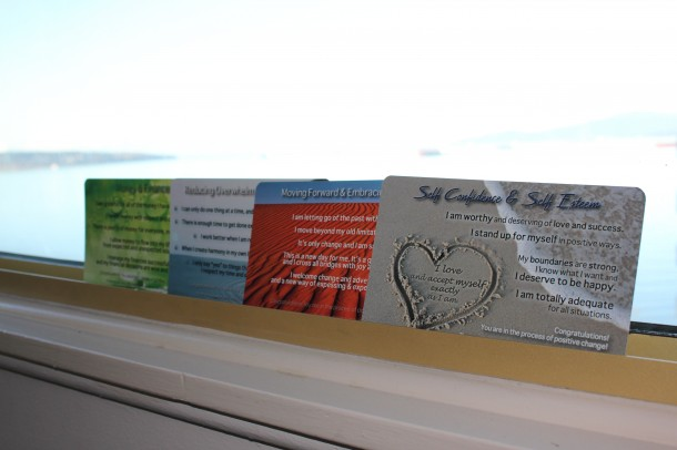 affirmation cards, like louise hay!