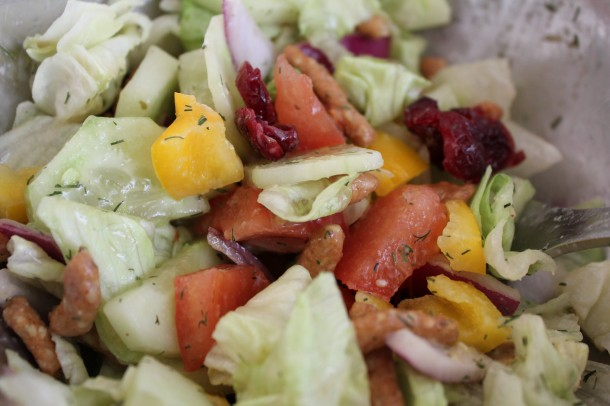 yum yum salad