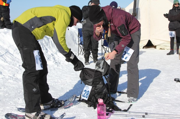 yellowknife, frostbite 45, 2011, NWT