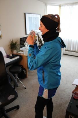 10km run, seawall, vancouver