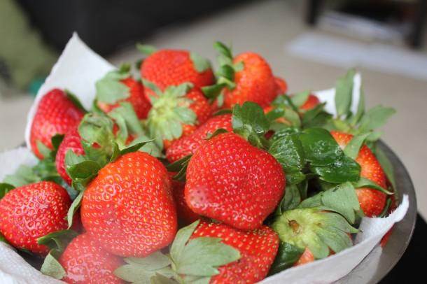 fresh bc strawberries