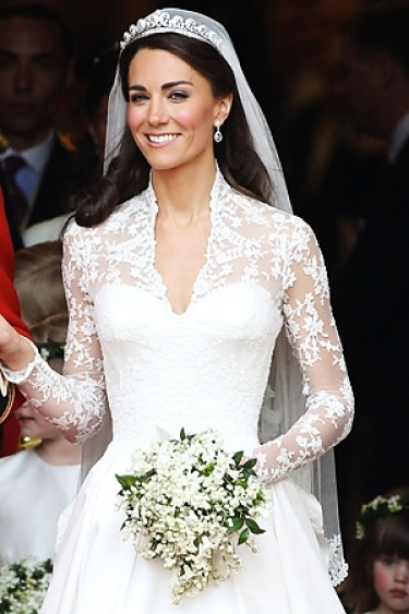 Latest hair designs for Wedding dress princess kate