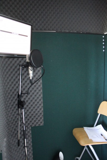 voiceover artist, home studio