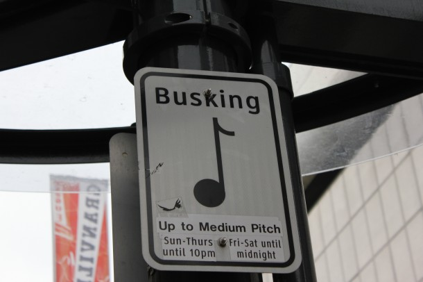 Busking in vancouver