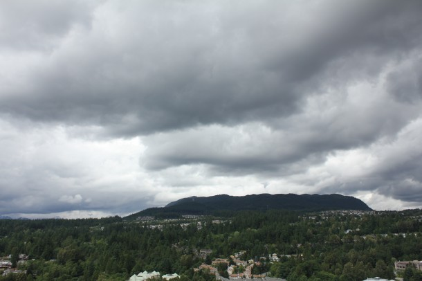 Cloudy in Port Moody