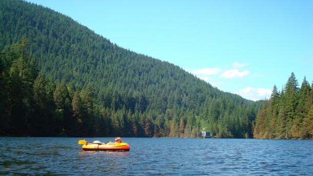 explorer 2000 walmart Buntzen Lake Vancouver