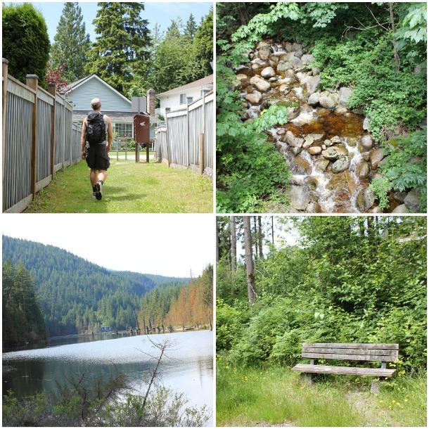 buntzen lake, hiking