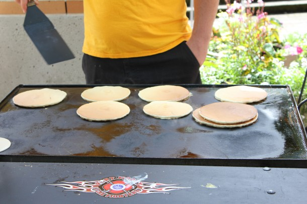 Port Moody Fireman's Pancake breakfast