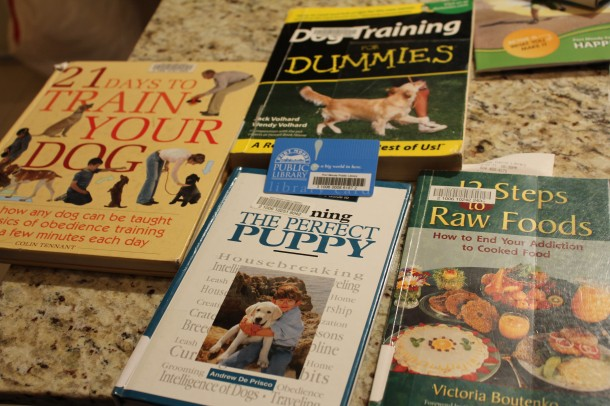 How to train your puppy books