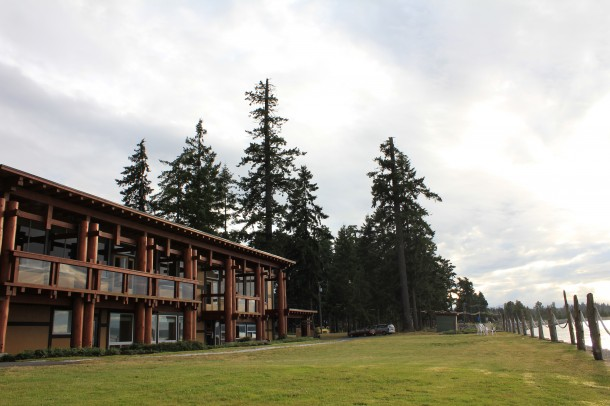 ocean resort, campbell river, spa and raw food weekend, vancouver island