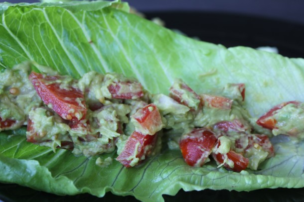 lettuce wraps with guac