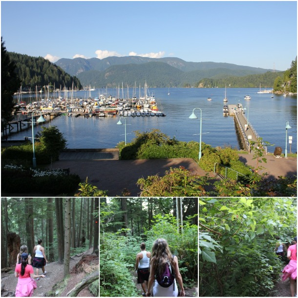 deep cove trails, north vancouver