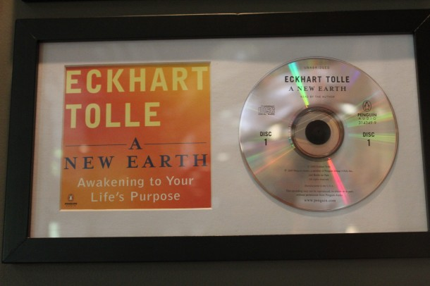 eckhart tolle, a new earth audio book, sound kitchen