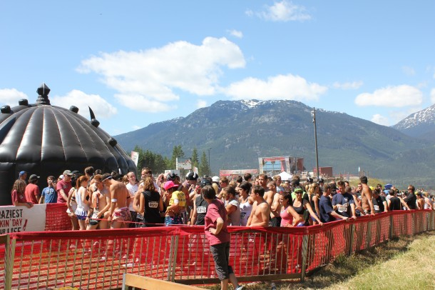Warrior Dash 2011, Whistler