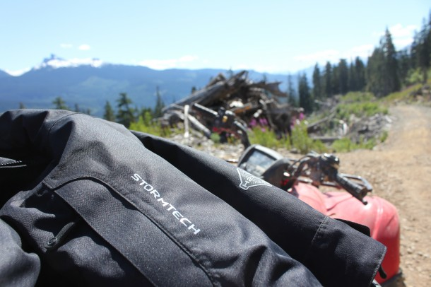 Blackcomb atv, whistler, stormtech