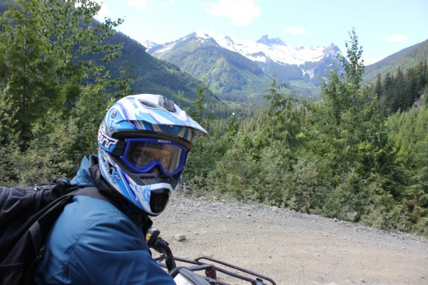 Blackcomb atv, whistler
