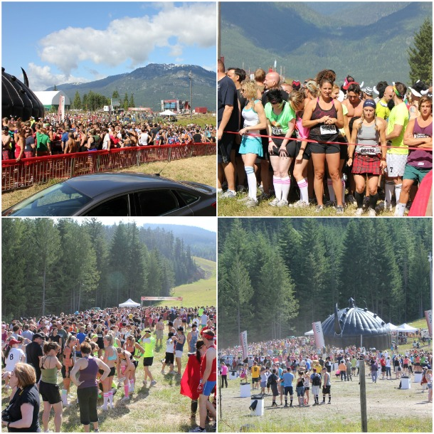 Whistler Warrior Dash 2011, Warrior Dash pics