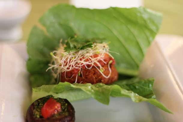 Raw, vegan burgers, raw food foundation