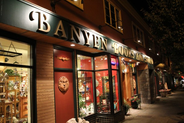 Banyen books, west 4th