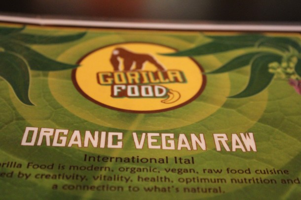 Gorilla Foods, Vancouver Richards st. Raw vegan food