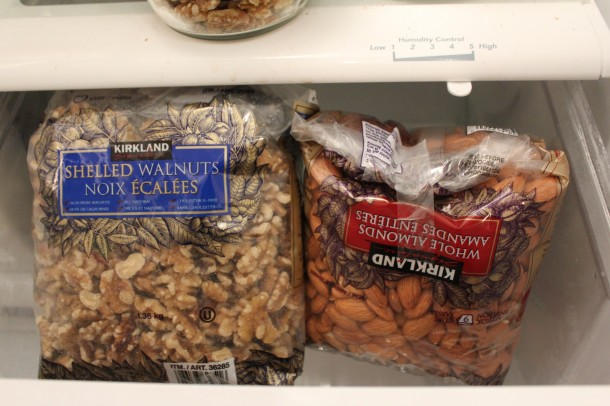 kirkland walnuts, almonds