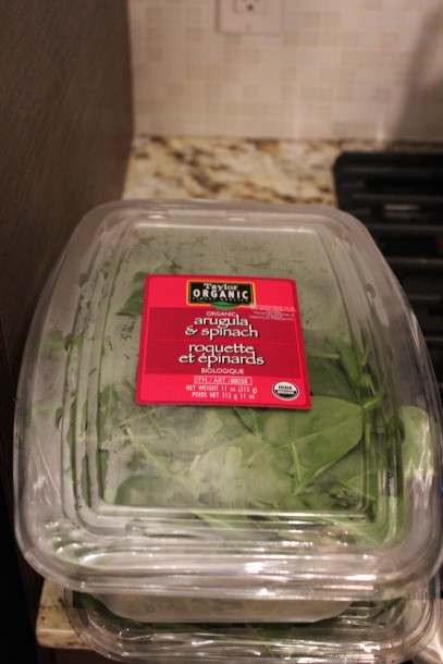 costco arugula spinach greens