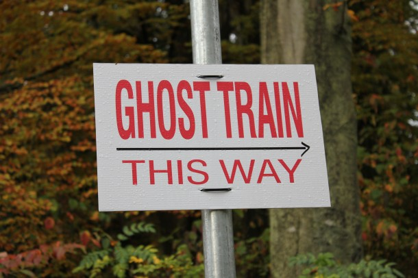 Ghost train, stanley park,