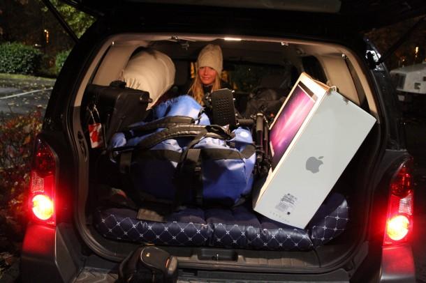 car tenting