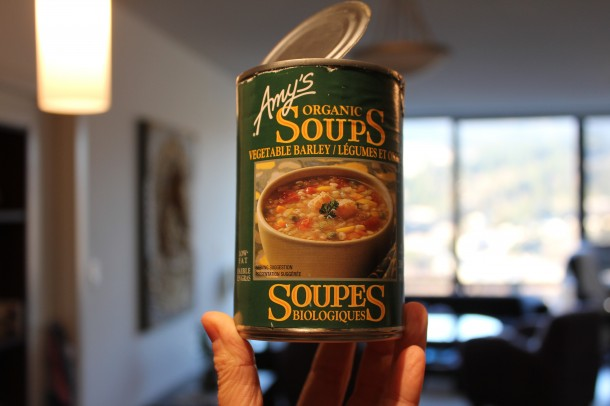 Amy's Organic Soup, Barley