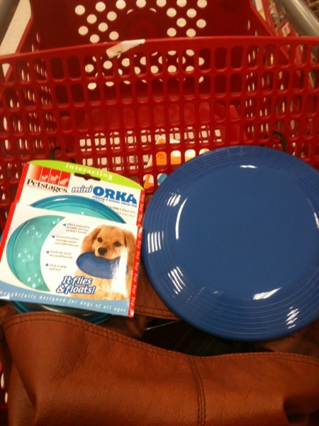 dog frisbee's from target