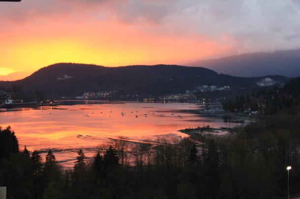 Port Moody sunset