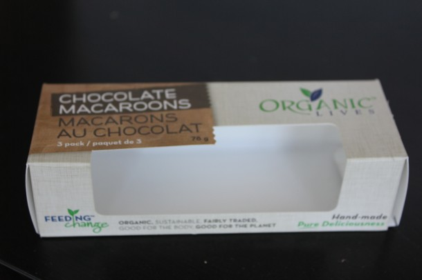 Organic Lives Chocolate Macaroons