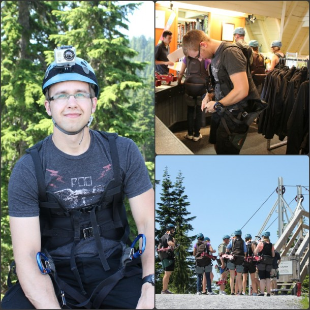 Zipline Grouse Mountain